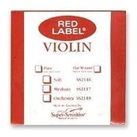 Super Sensitive 2112 Coated Steel Violin Strings Custom [並行輸入品]