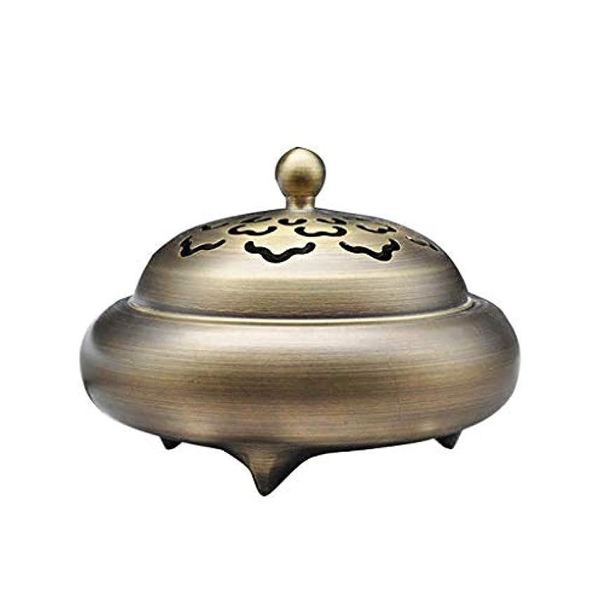 浮くクローゼット期待芳香器?アロマバーナー レトロバーナー純銅香バーナーホーム屋内白檀炉香バーナー香道路装飾 芳香器?アロマバーナー (Color : Brass)