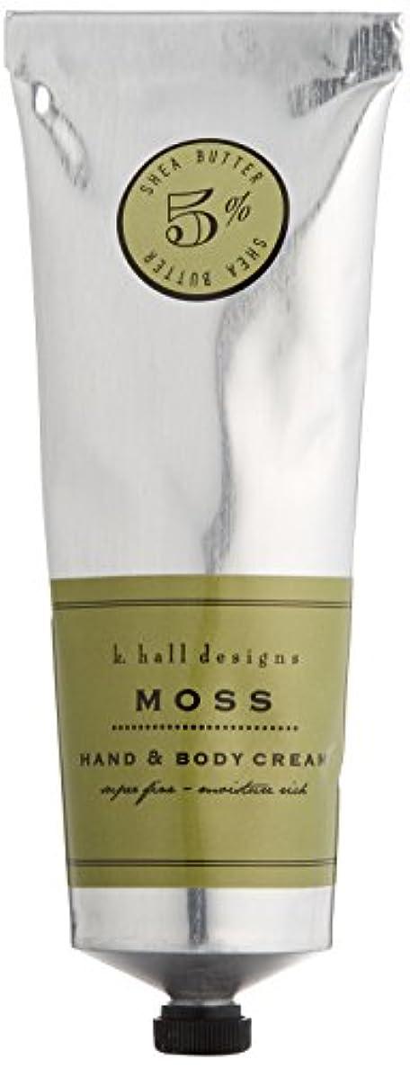 砂の荒らす新鮮なk.hall designs(ケイホール デザインズ) ハンド&ボディクリーム モス