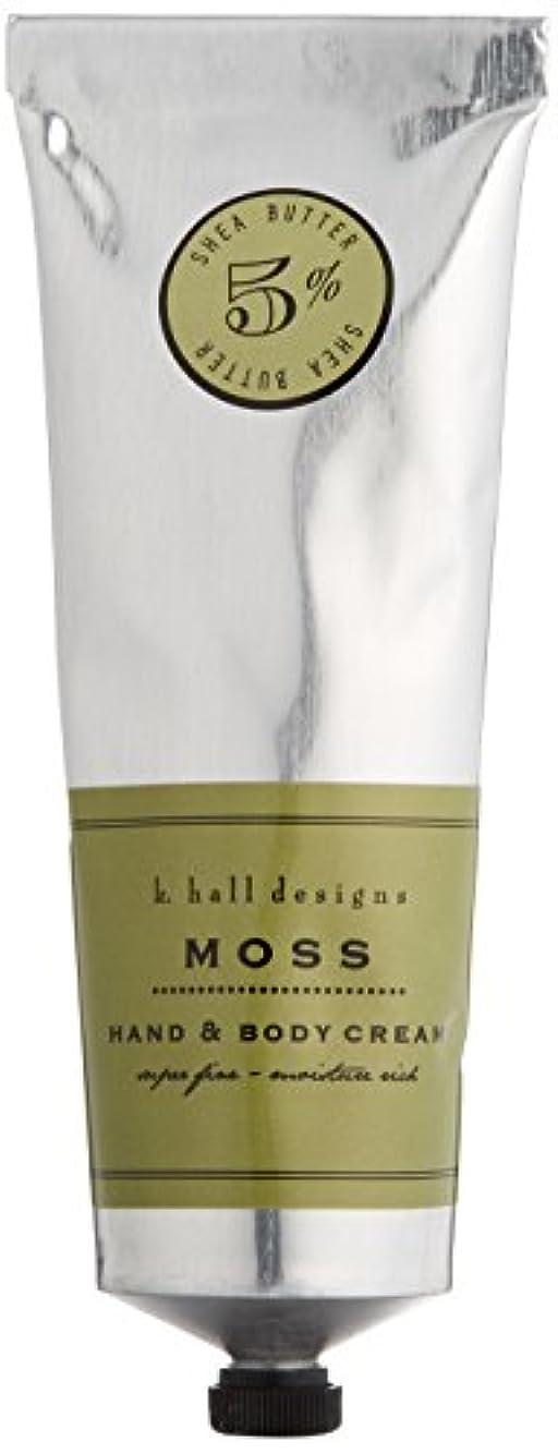 紛争富豪増幅するk.hall designs(ケイホール デザインズ) ハンド&ボディクリーム モス