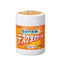 (まとめ)サンワサプライ ウェットティッシュ(強力タイプ) CD-WT6KS【×10セット】