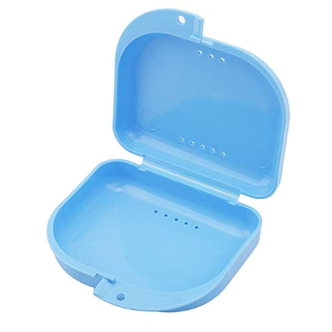 手のひら含む蒸発するBEE&BLUE 義歯ケース 義歯収納 義歯ボックス 義歯収納ケース 入れ歯のポケット 義歯収納容器 ミニ