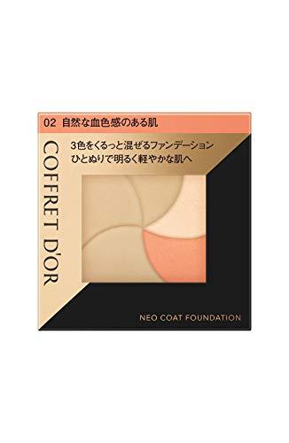 コフレドール コフレドール COFFRET D'OR ネオコートファンデーション 本体 02 自然な血色感のある肌 9G 無香料の画像