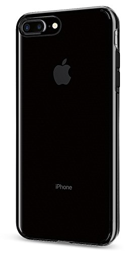【Spigen】 iPhone7 Plus ケース, リキッド・クリスタル [ クリア 超薄型 超軽量 ] アイフォン 7 プラス用 カバー (iPhone7 Plus, スペース・クリスタル)