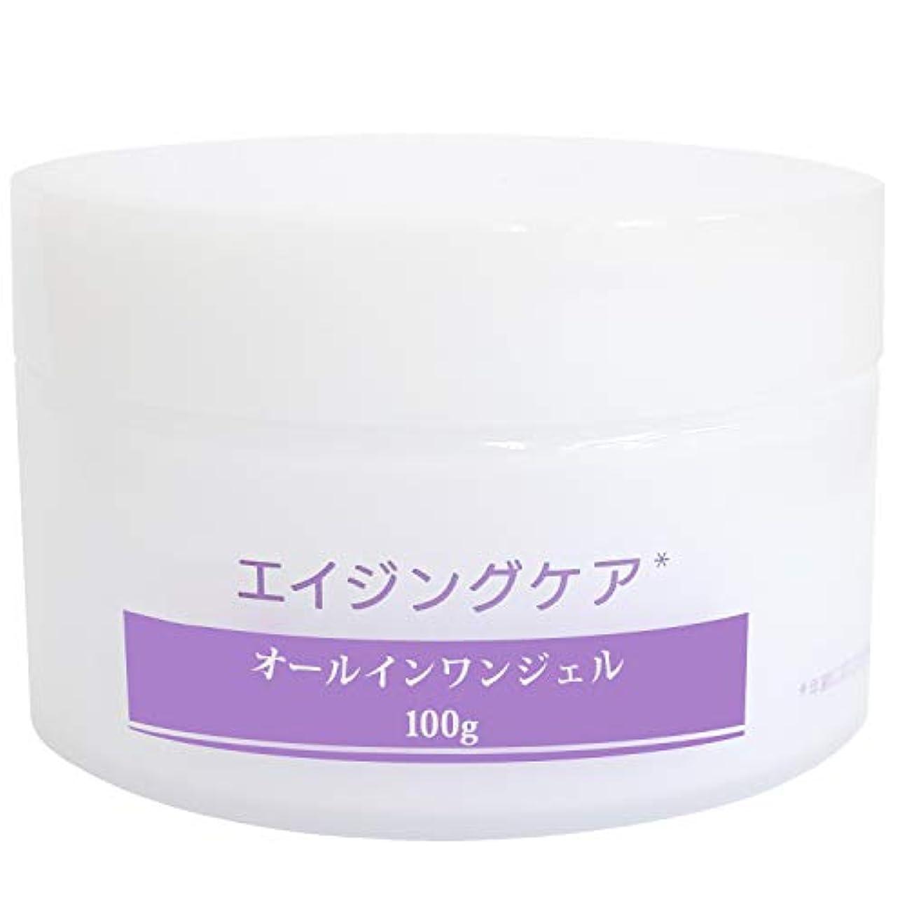 中級変更雄弁オールインワンジェル メンズ 化粧水 美容液 保湿クリーム オールインワン エイジングケア スキンケア リンクルケア 男性 乾燥小じわを目立たなくする 大容量 100g