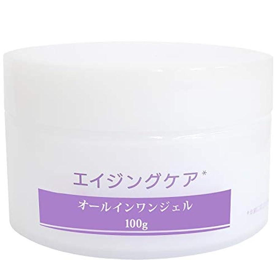興奮する嘆願レベルオールインワンジェル メンズ 化粧水 美容液 保湿クリーム オールインワン エイジングケア スキンケア リンクルケア 男性 乾燥小じわを目立たなくする 大容量 100g