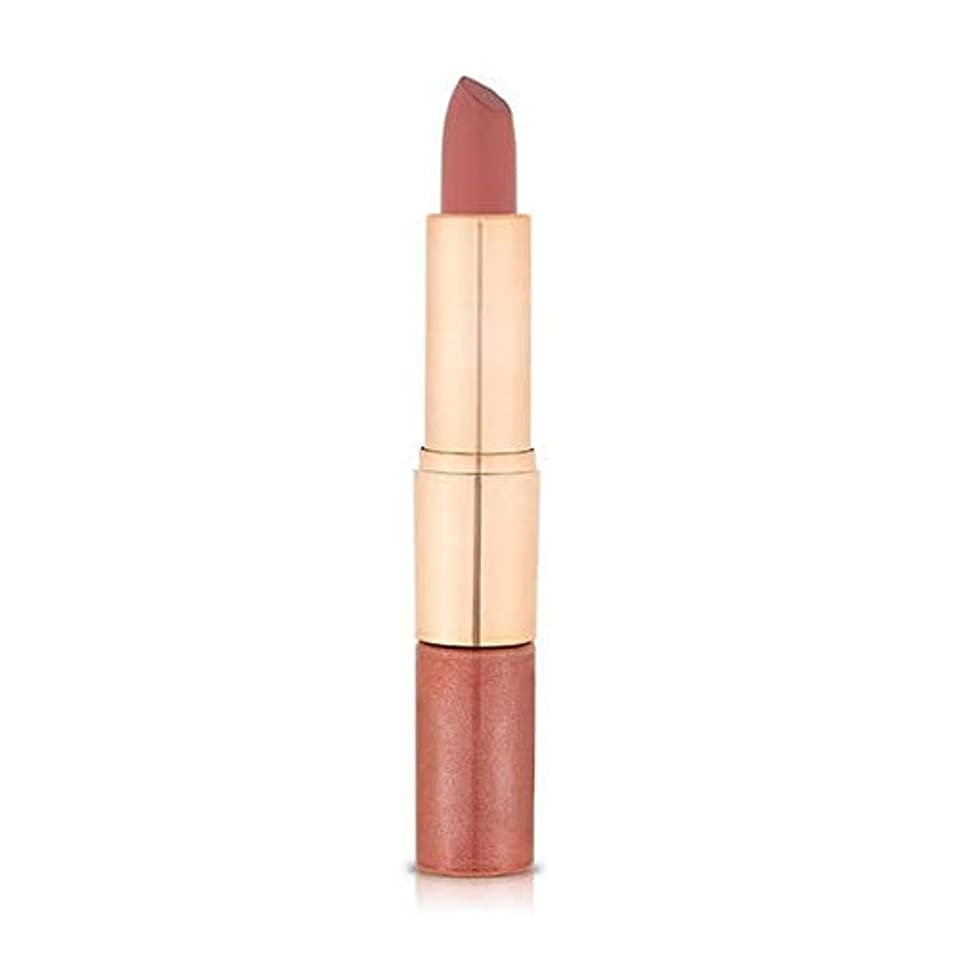 [Flower Beauty ] 花の美しさのミックスN」はヌードマット口紅デュオ蜂蜜686 - Flower Beauty Mix N' Matte Lipstick Duo Honey Nude 686 [並行輸入品]