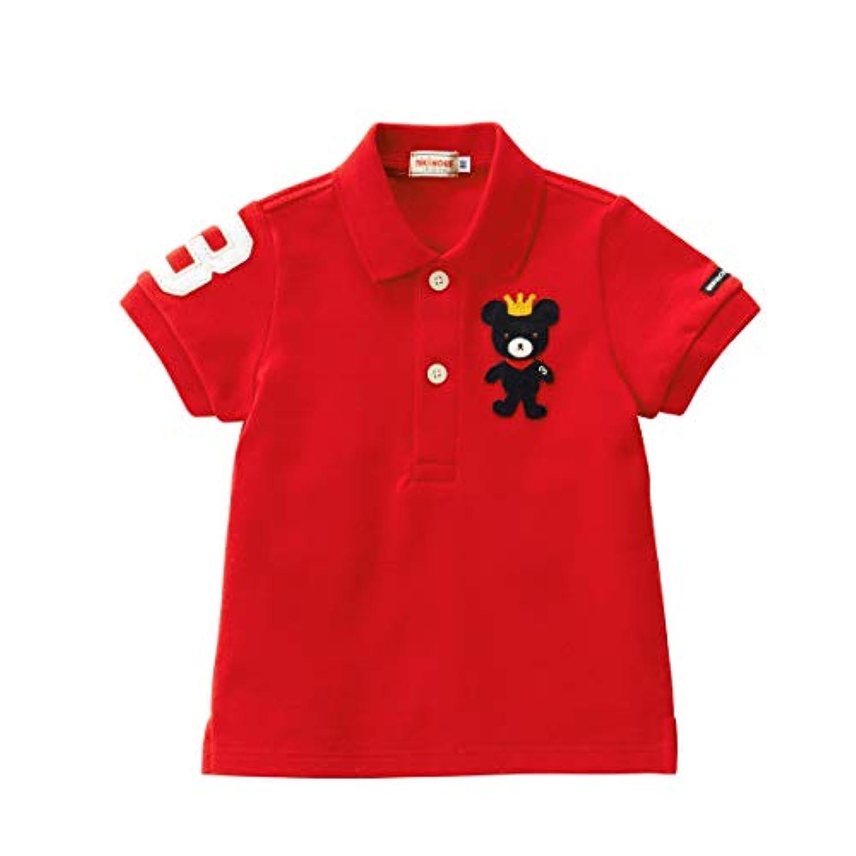 ミキハウス (MIKIHOUSE) ポロシャツ 12-5502-955 100cm コーラルレッド