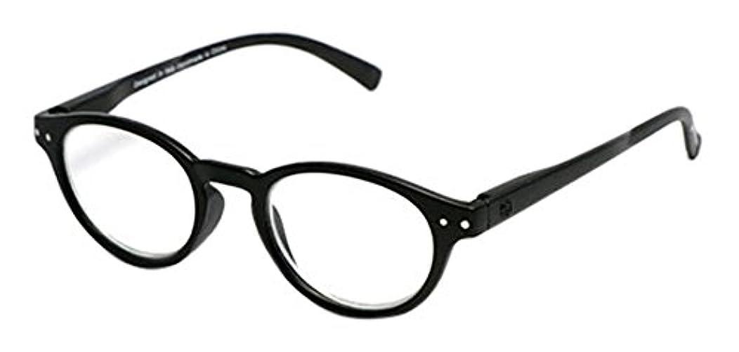 シェフ餌内部sempre art studio(センプレアートスタジオ) リーディンググラス (老眼鏡) COCO +2.50 ブラックマット