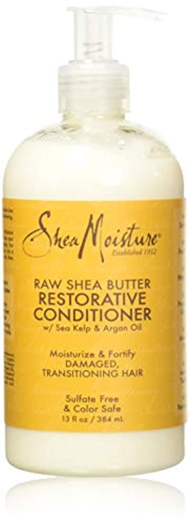 エクスタシー湿った休日Shea Moisturee Raw Shea Butter Restorative Conditioner 13oz