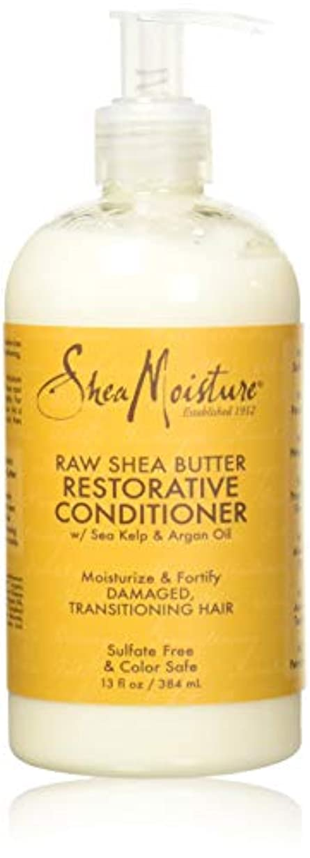 目を覚ます魔法司書Shea Moisturee Raw Shea Butter Restorative Conditioner 13oz