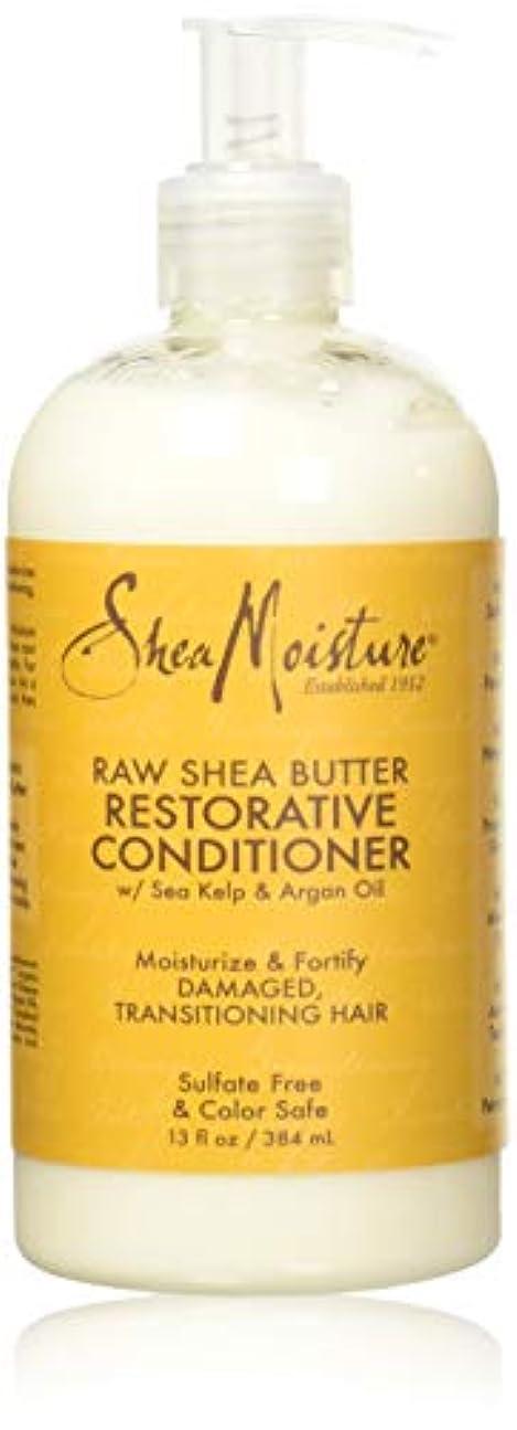 猫背ヒット穏やかなShea Moisturee Raw Shea Butter Restorative Conditioner 13oz