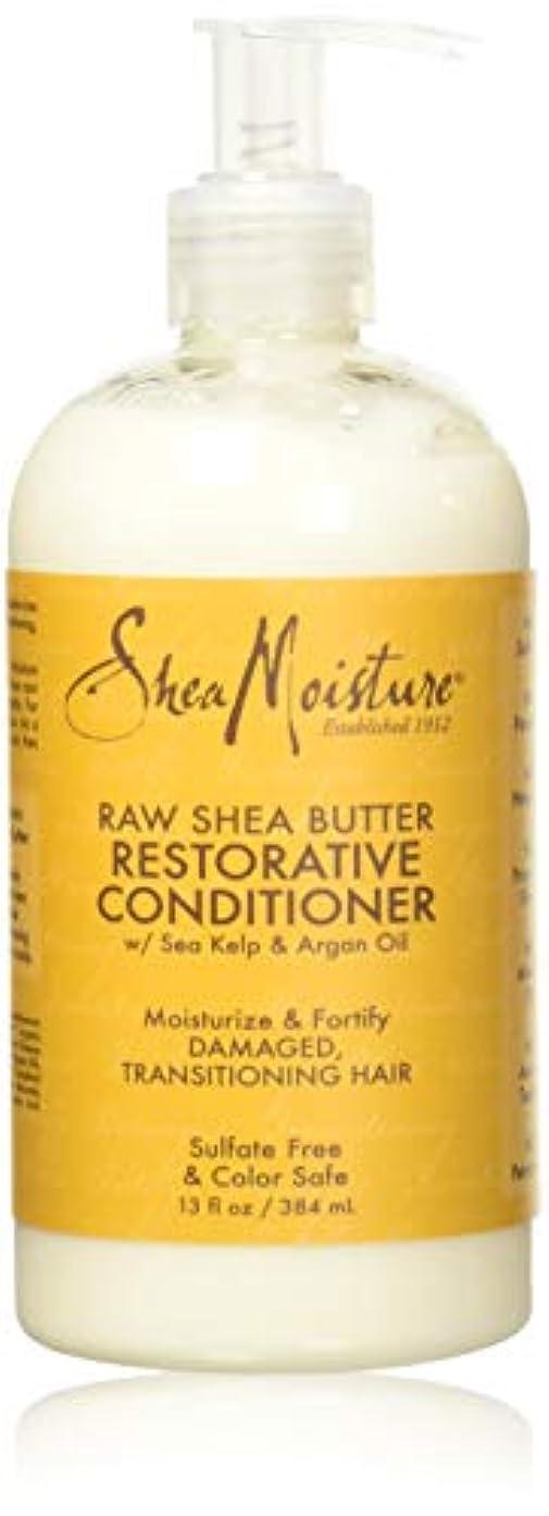 議論する転用空のShea Moisturee Raw Shea Butter Restorative Conditioner 13oz