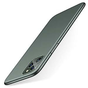 TORRAS iPhone 11 Pro ケース 5.8インチ 対応 緑 超薄型 PC SGS認証 全面保護 マット UVハードコーティング 指紋防止 傷付き防止 ガラスフィルム付属 アイフォン11 Pro 用耐衝撃カバー(ミッドナイトグリーン)[ Wisdom Series]