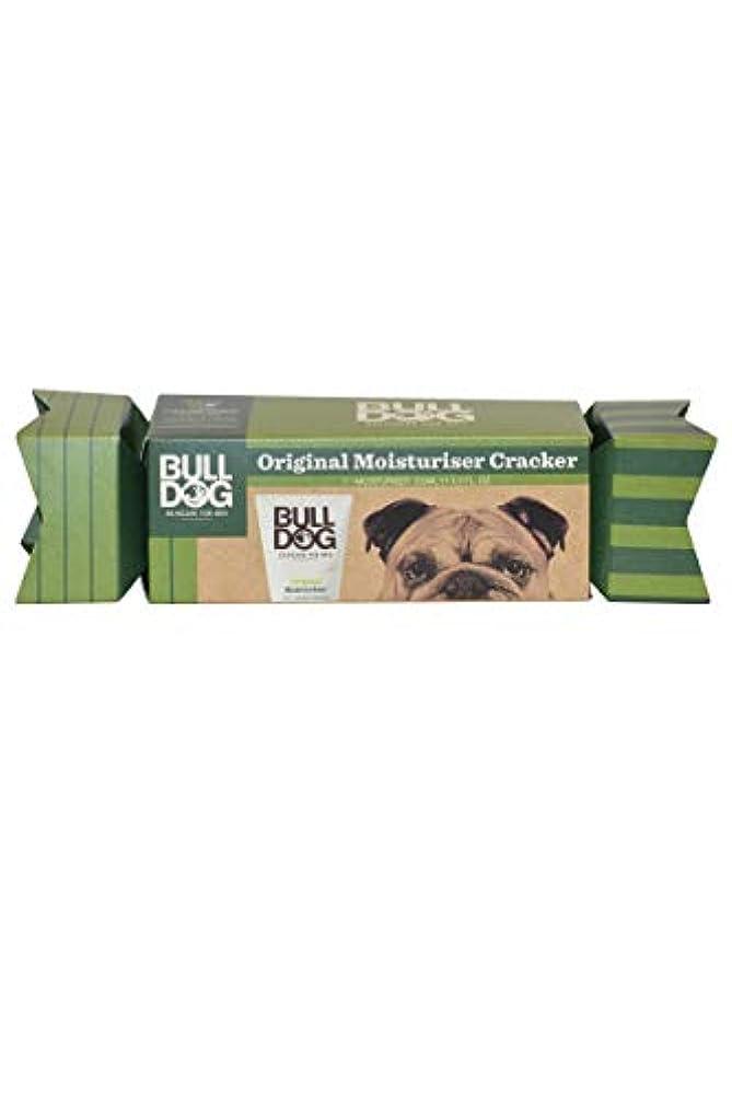 対人敬な頂点ブルドッグ(Bulldog) オリジナル モイスチャライザー(保湿クリーム) クラッカーギフトパッケージ 100mL