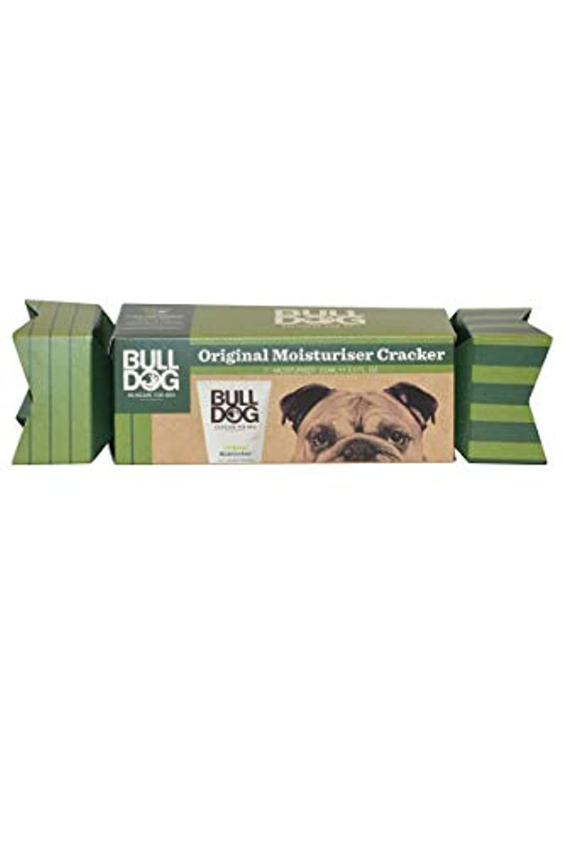 鳴り響くコンクリート任命するブルドッグ(Bulldog) オリジナル モイスチャライザー(保湿クリーム) クラッカーギフトパッケージ 100mL