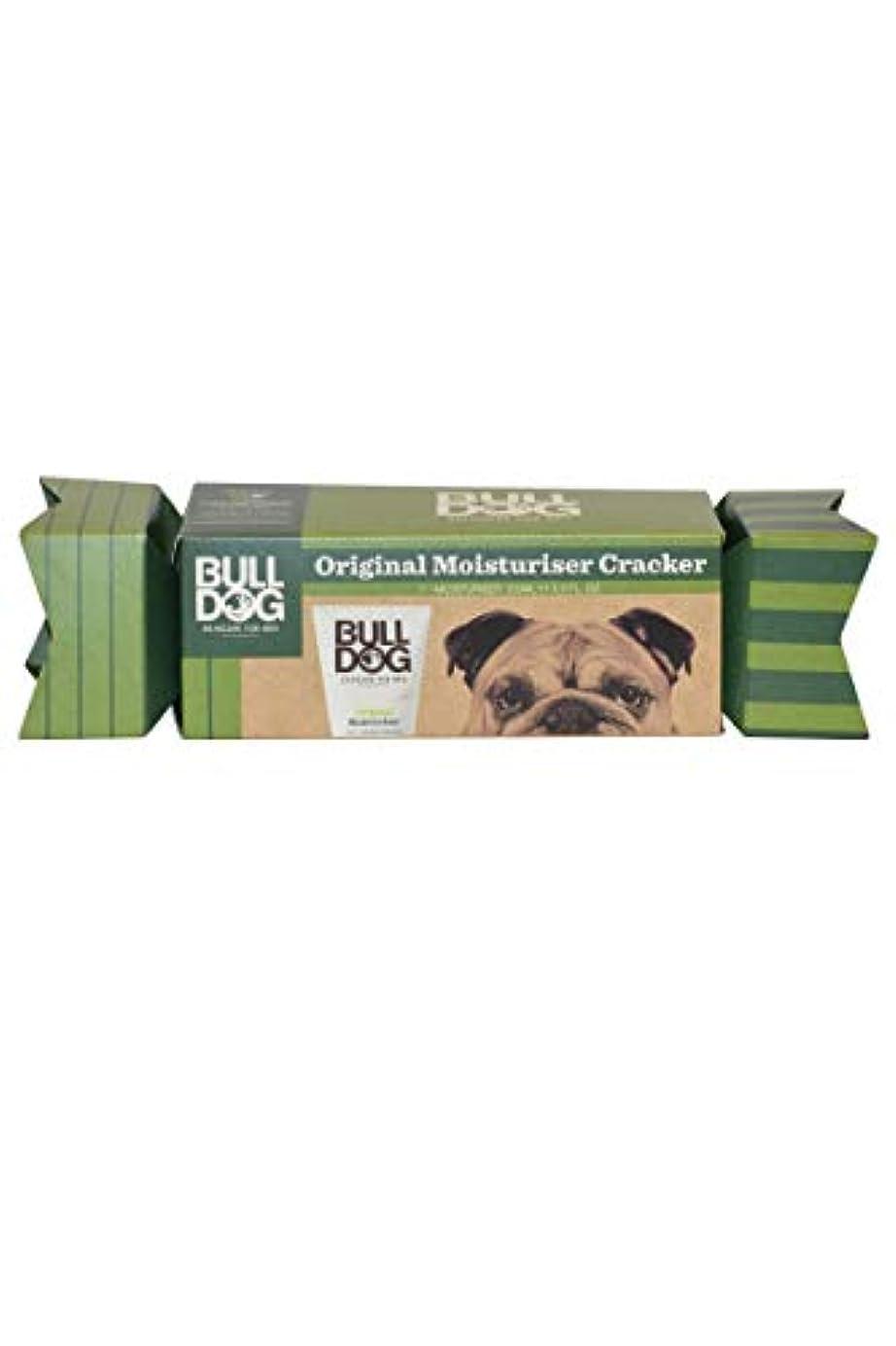 憧れトンネル探検ブルドッグ(Bulldog) オリジナル モイスチャライザー(保湿クリーム) クラッカーギフトパッケージ 100mL
