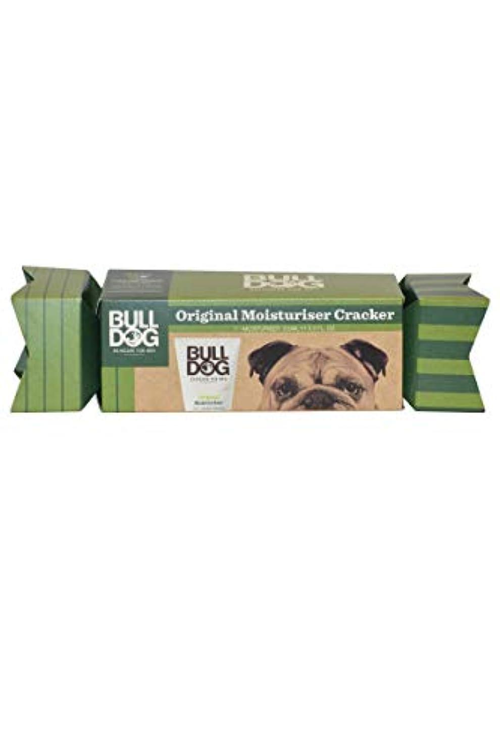 保有者上がるキリストブルドッグ(Bulldog) オリジナル モイスチャライザー(保湿クリーム) クラッカーギフトパッケージ 100mL