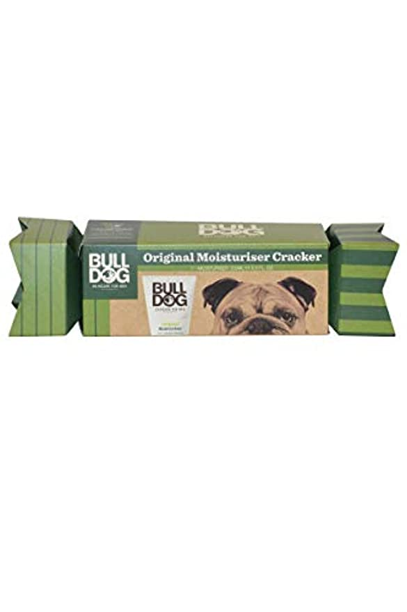 湖柔らかい足翻訳するブルドッグ(Bulldog) オリジナル モイスチャライザー(保湿クリーム) クラッカーギフトパッケージ 100mL