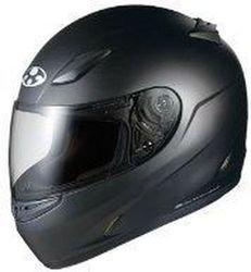オージーケーカブト(OGK KABUTO)バイクヘルメット フルフェイス FF-R3 フラットブラック (サイズ:M)