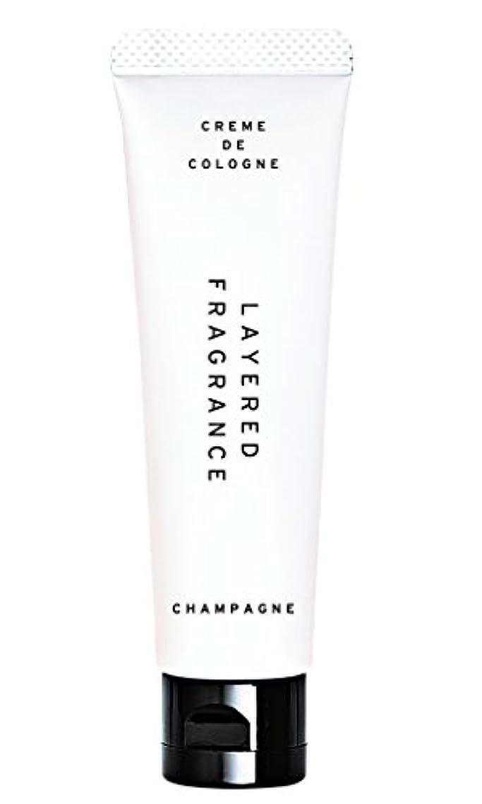 ムスハンカチアセンブリレイヤードフレグランス クレムドゥコロン シャンパン 30g 練り香水