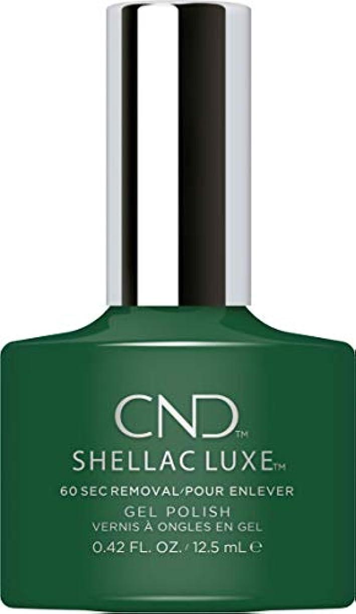 居間本当に言語CND Shellac Luxe - Palm Deco - 12.5 ml / 0.42 oz