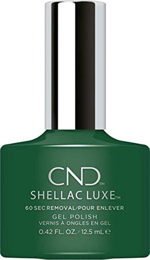 スチールモットー瞳CND Shellac Luxe - Palm Deco - 12.5 ml / 0.42 oz