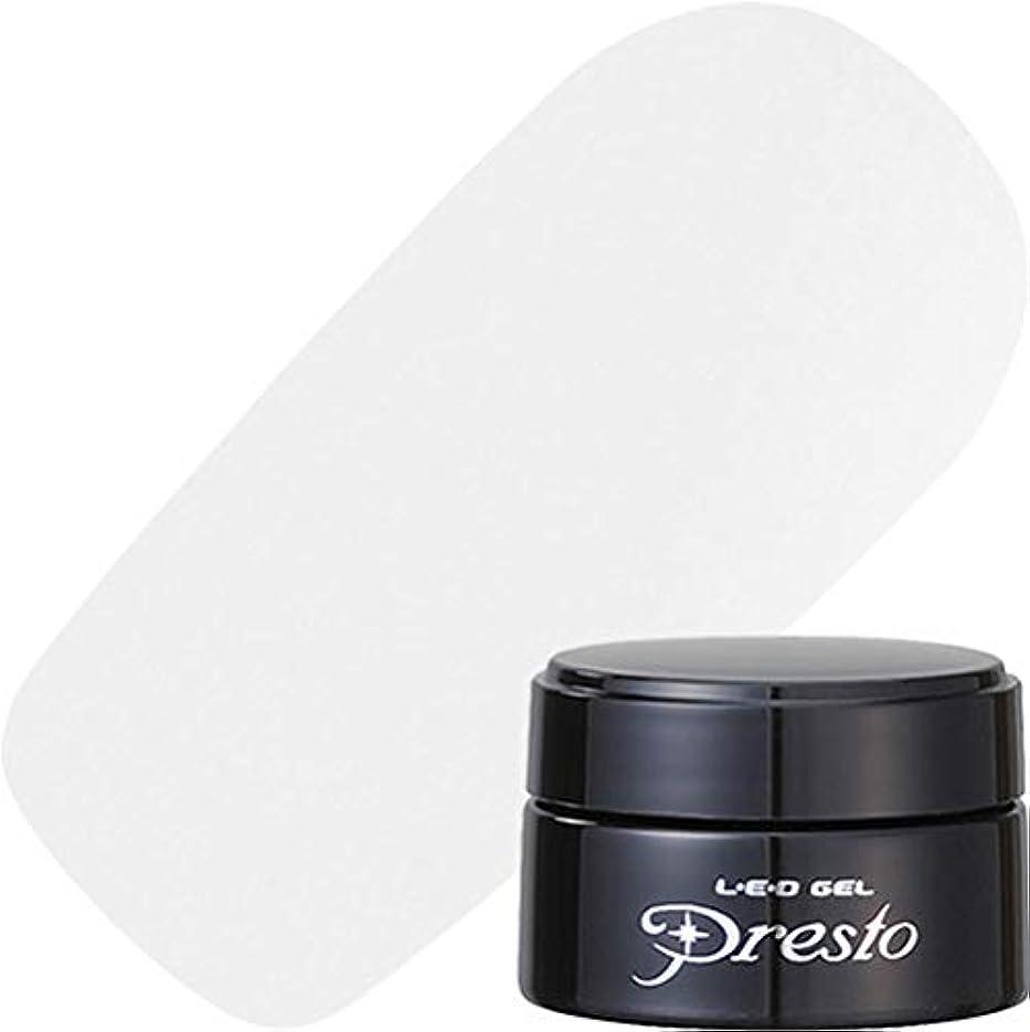 締める水平エッセイpresto(プレスト) presto リキッドライナー ホワイト 2.7g UV/LED対応 ジェルネイル