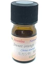 スイートオレンジ 100% ピュアエッセンシャルオイル アロマ精油 (5ml)