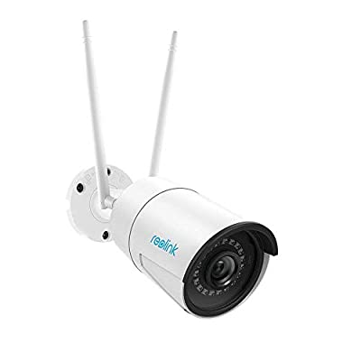 Reolink 4MP/5MP Bullet 2.4G/5G WiFi IP Camera with SD Card Recording