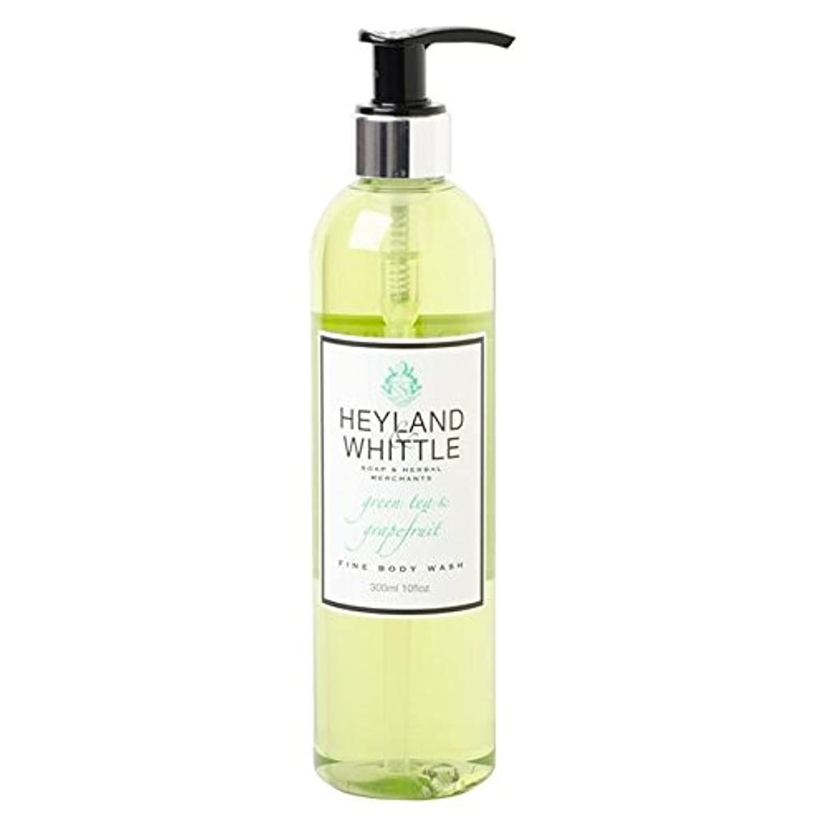 スパーク適用する入手しますHeyland & Whittle Greentea & Grapefruit Body Wash 300ml - &削るグリーンティ&グレープフルーツボディウォッシュ300ミリリットル [並行輸入品]