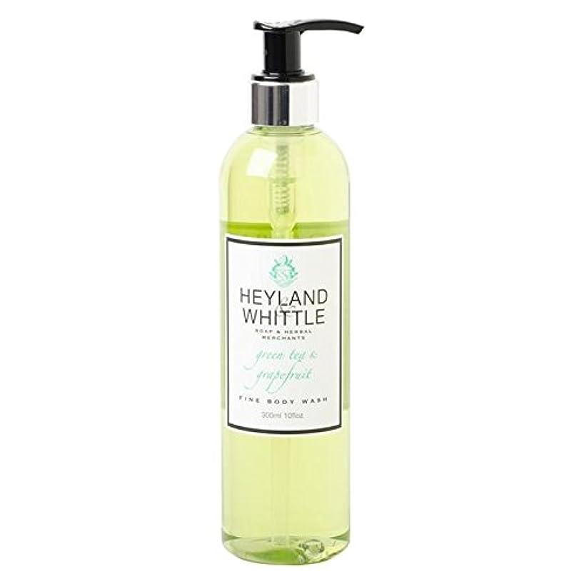 投げる利用可能に向けて出発Heyland & Whittle Greentea & Grapefruit Body Wash 300ml (Pack of 6) - &削るグリーンティ&グレープフルーツボディウォッシュ300ミリリットル x6 [並行輸入品]