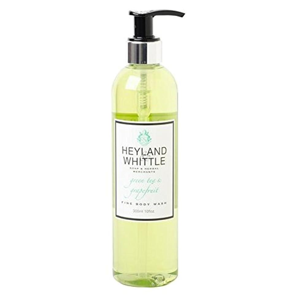 通信するの間に勝利Heyland & Whittle Greentea & Grapefruit Body Wash 300ml (Pack of 6) - &削るグリーンティ&グレープフルーツボディウォッシュ300ミリリットル x6 [...
