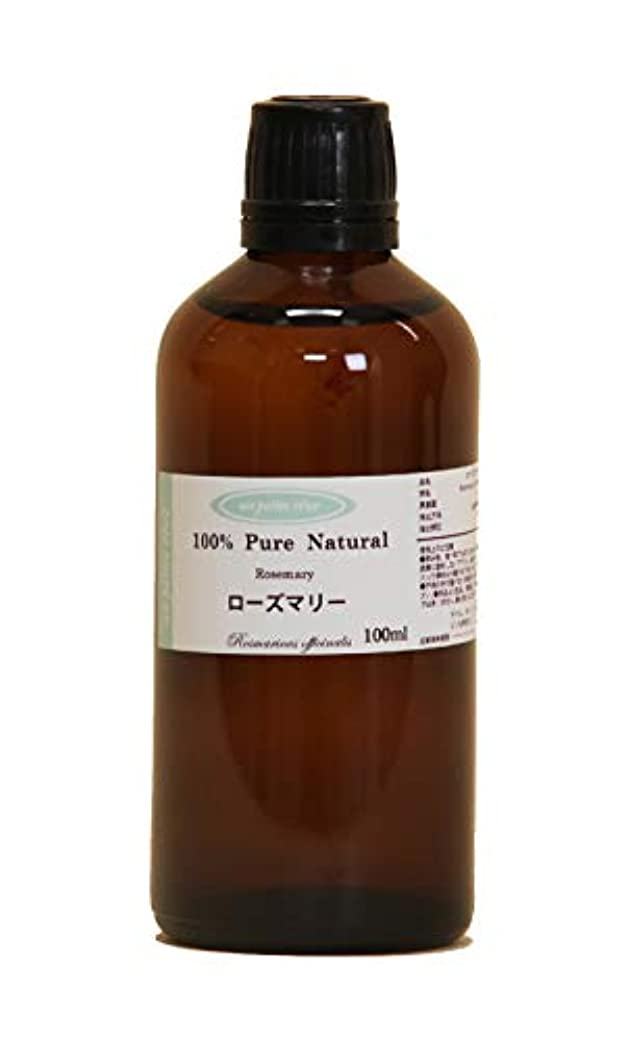 作業舞い上がるセマフォローズマリー 100ml 100%天然アロマエッセンシャルオイル(精油)