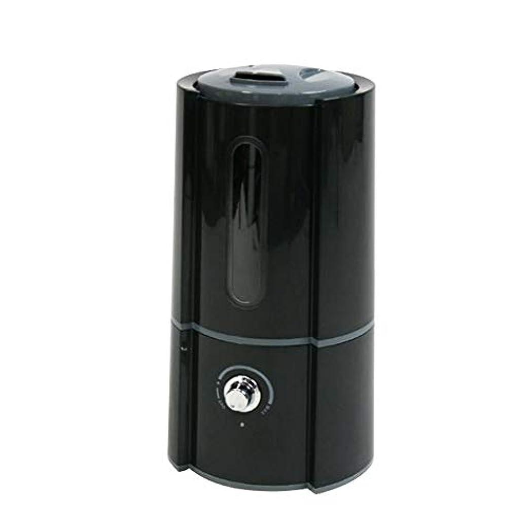 筋ゲージアイザック加湿器 超音波式 大容量 卓上 2.5L 400ml/h オフィス ディフューザー 加湿量調節 ブラック