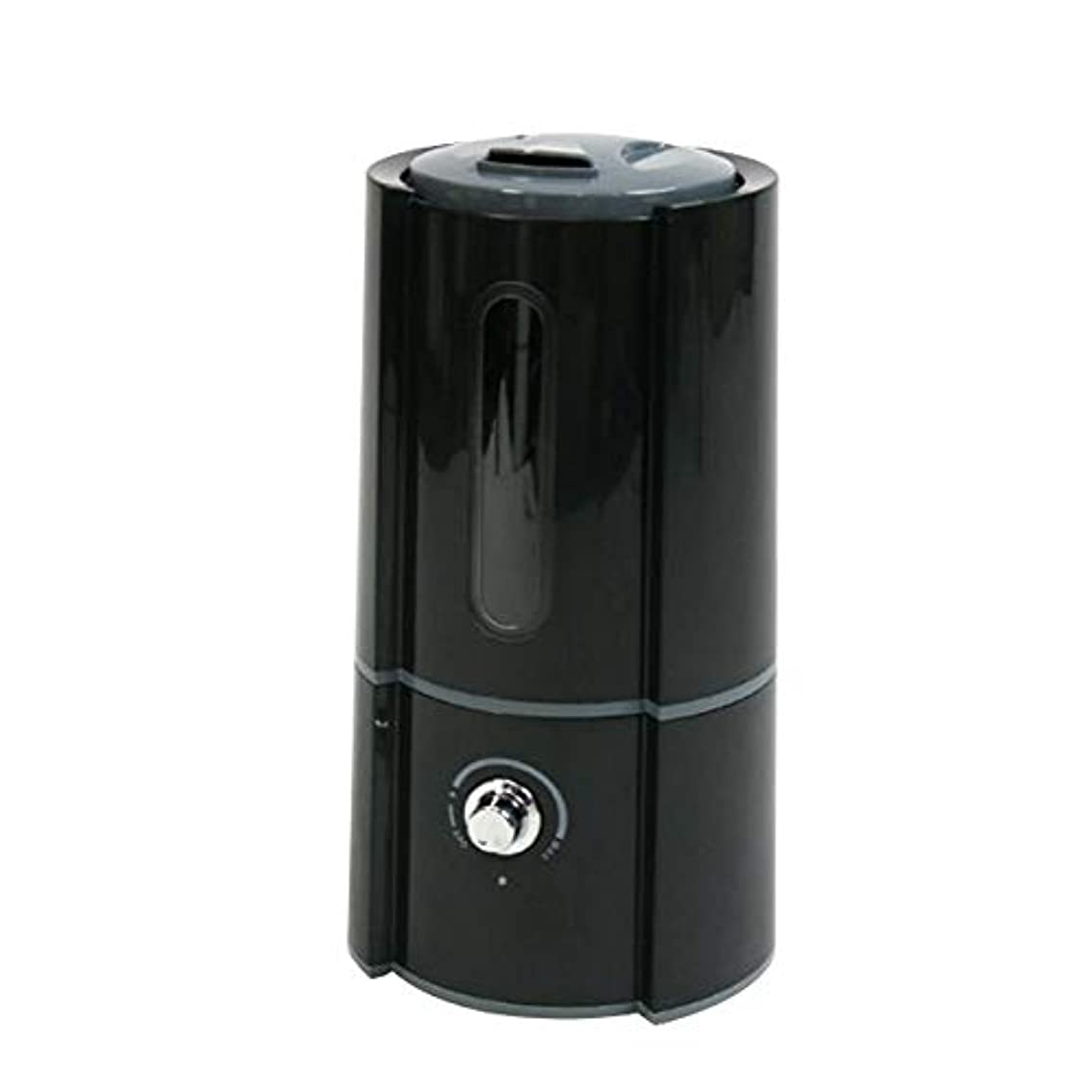 災害ガラス動物加湿器 超音波式 大容量 卓上 2.5L 400ml/h オフィス ディフューザー 加湿量調節 ブラック