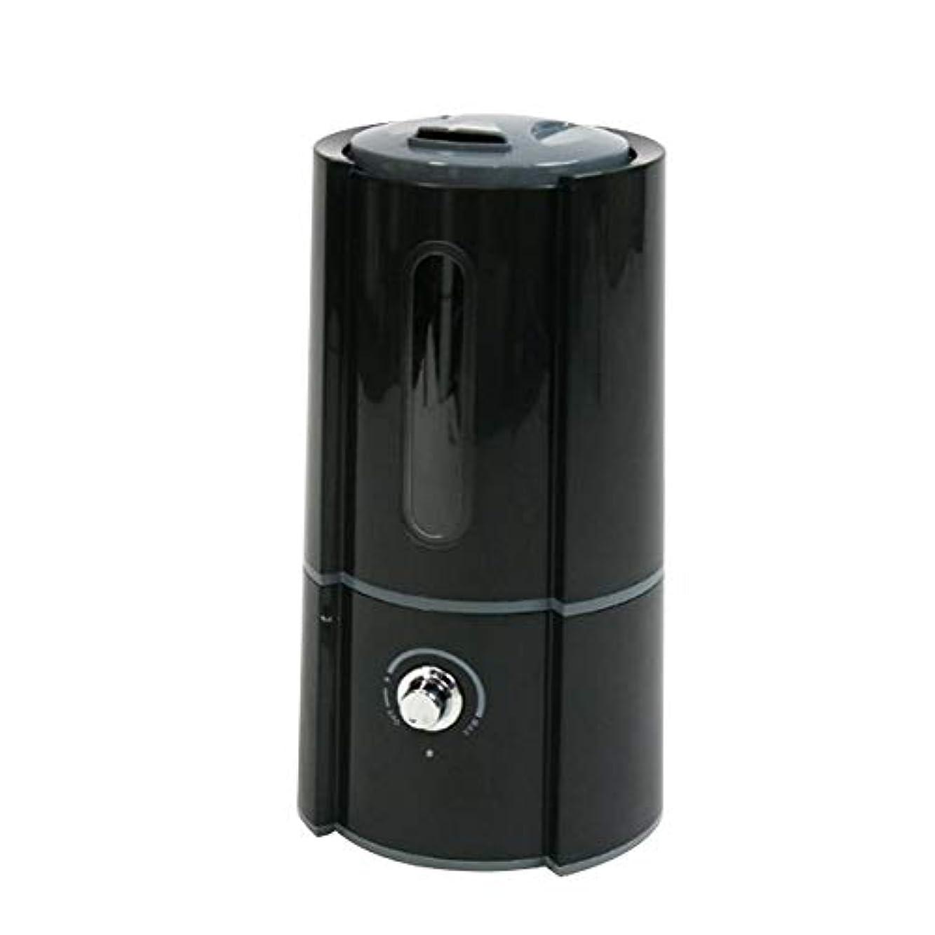 居心地の良いぞっとするような診断する加湿器 超音波式 大容量 2.5L 400ml/h DOLCE 卓上 オフィス ディフューザー 加湿量調節 ブラック