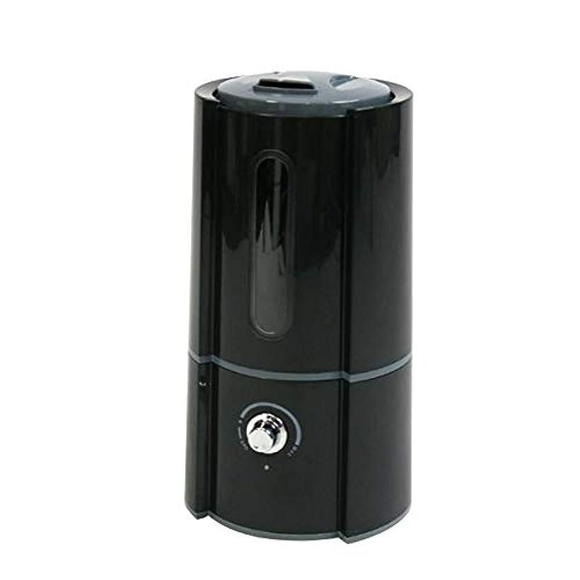 対話パテ壊す加湿器 超音波式 2.5L 400ml/h 大容量 卓上 DOLCE オフィス ディフューザー 加湿量調節 ブラック