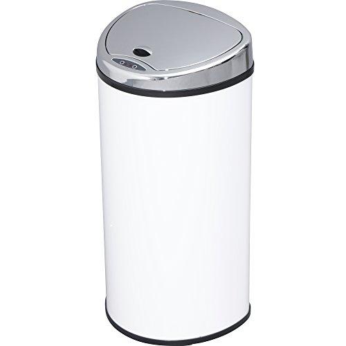 アイリスプラザ ゴミ箱 自動 開閉 センサー付 68L ホワイト