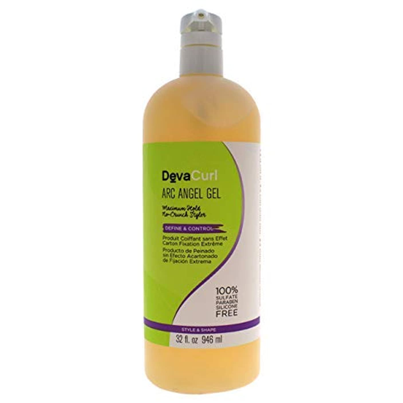 レザーなので先史時代のデヴァ Arc Angel Gel (Maximum Hold No-Crunch Styler - Define & Control) 946ml/32oz並行輸入品