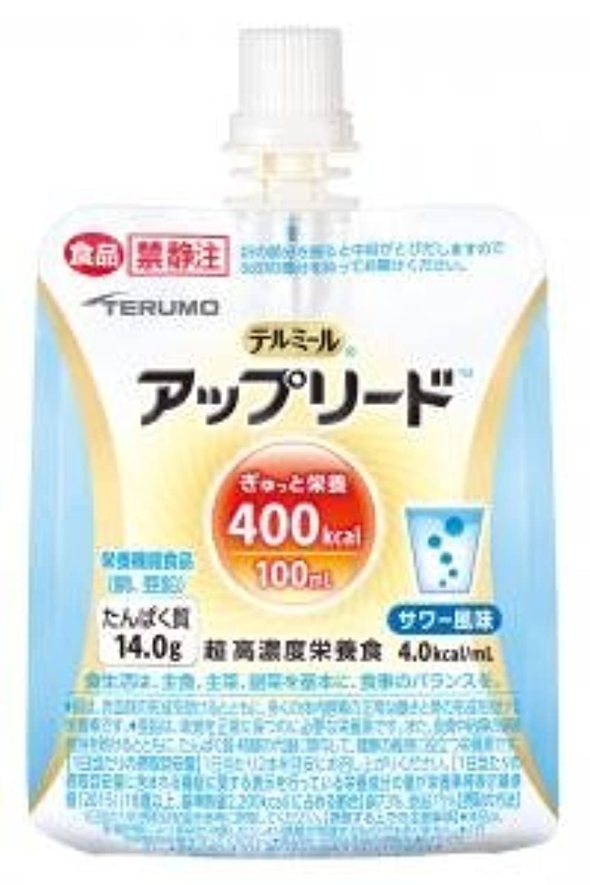 シャンプーニュースかわいらしいテルモ 超高濃度栄養食 アップリード サワー風味  100ml×18個 (4.0kcal/ml)【ケース販売】