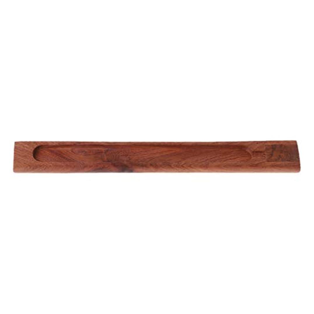 利用可能敬な治安判事SimpleLife 禅のガーデン便利な自然の平野の木製香ボードスティックバーナーホルダーギフト