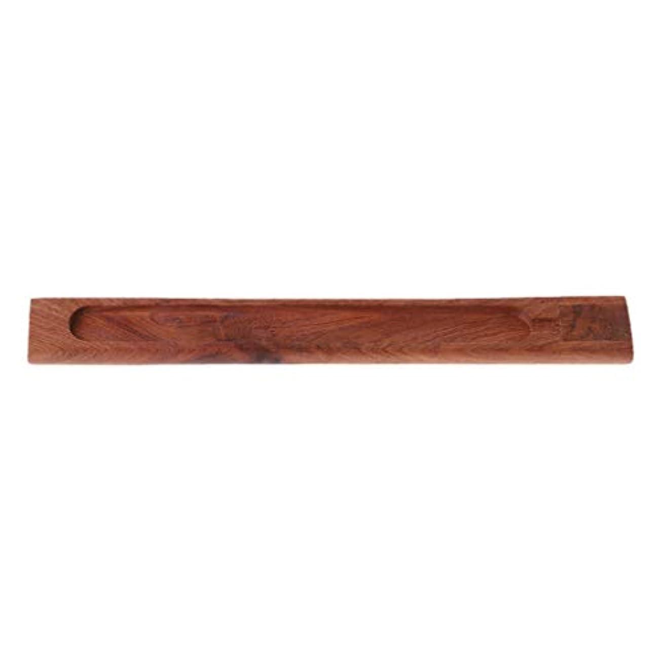 速記高度なマートSimpleLife 禅のガーデン便利な自然の平野の木製香ボードスティックバーナーホルダーギフト