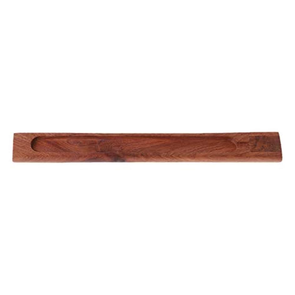 控えるアラブ避難SimpleLife 禅のガーデン便利な自然の平野の木製香ボードスティックバーナーホルダーギフト