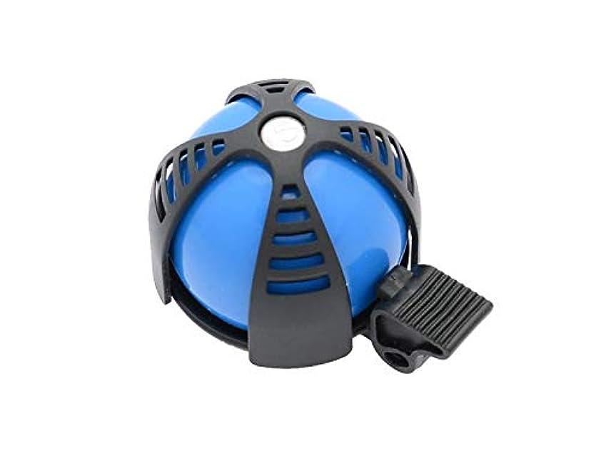 講師分はいSIMSON 自転車ベル ジョイ ブルー&ブラック スポーティーなデザイン カラフルカラー 付属リングで簡単装着 クリアートーン 021218