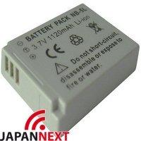 CANON NB-5L対応バッテリー キヤノンIXY DIGITAL 1000/2000等保障【EDOGAWA】 保障付(JN-BAT)