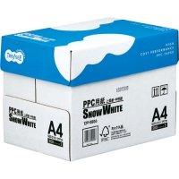 PPC用紙 SNOW WHITE A4 1箱(2500枚:500枚x5冊)