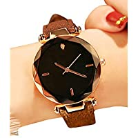 Women's Wrist Watch Quartz 30 m Water Resistant/Water Proof Creative PU Band Analog Vintage Fashion Black/Red/Brown - Brown Red Green