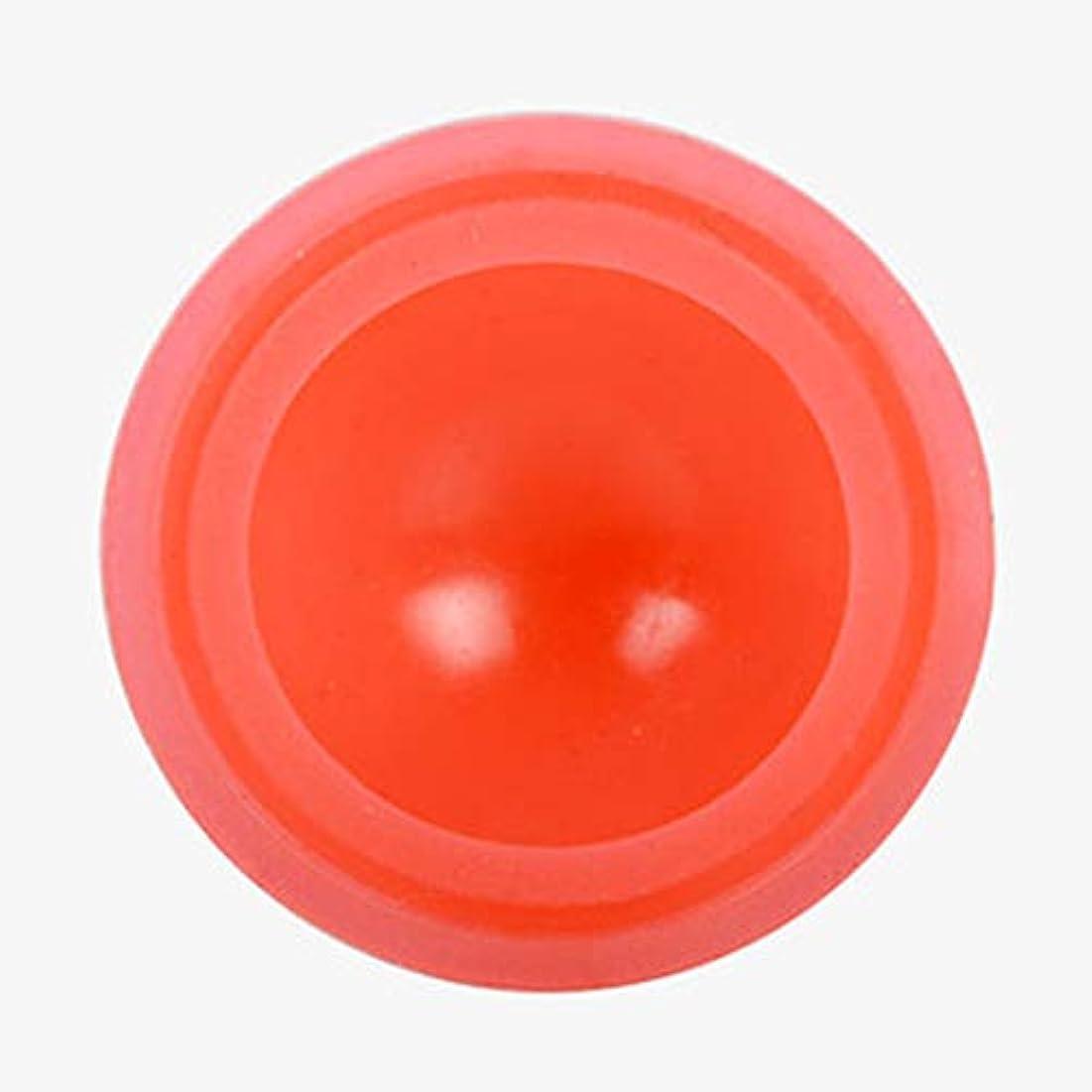 ピクニック簡単な準拠マッサージカッピング カッピング シリコンカッピング 吸い玉 真空セラピー 脂肪吸引 康祝 関節と筋肉痛救済 セルライト治療,オレンジ色