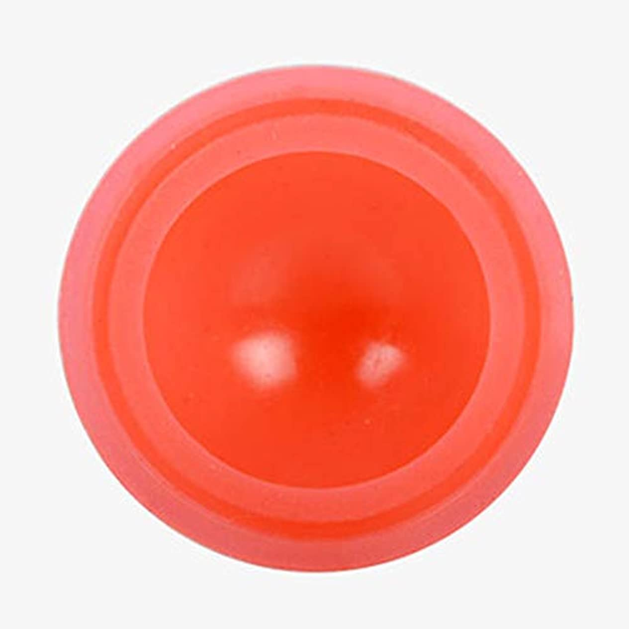 整然としたトンネルバーガーマッサージカッピング カッピング シリコンカッピング 吸い玉 真空セラピー 脂肪吸引 康祝 関節と筋肉痛救済 セルライト治療,オレンジ色